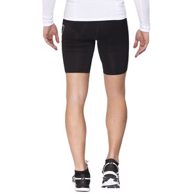 Odlo Sliq 2.0 Tights short Men black/silver